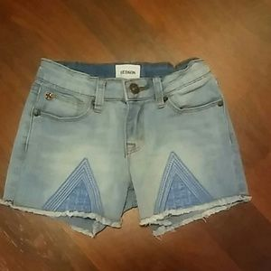 Hudson Girl's Shorts with Embroidery